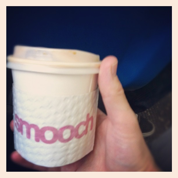 Start the day of right with a Flat White from Smooch (Taken with Instagram at Smooch Cafe)