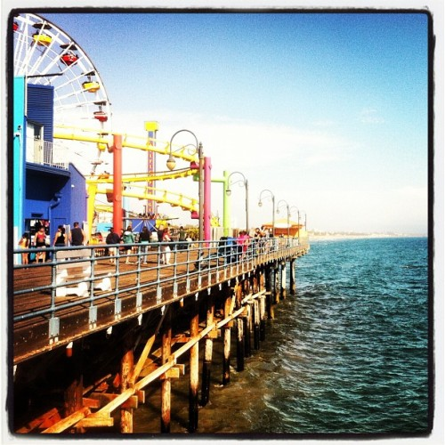 Santa Monica Pier (Taken with Instagram)