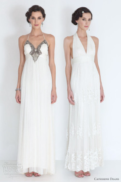 helloweddingdiary:  Catherine Deane Wedding Dresses 2012