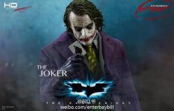 [TEASER] The Dark Knight: Joker 1:4 Scale - Enterbay