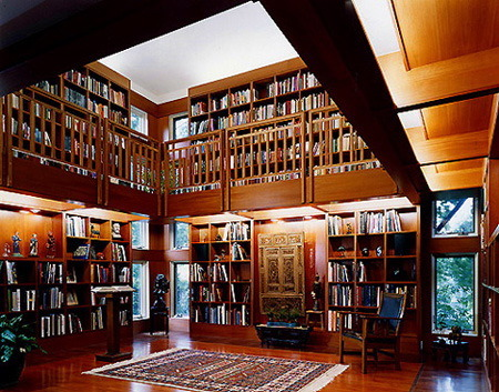 Dude, I want a huge library in my home :/