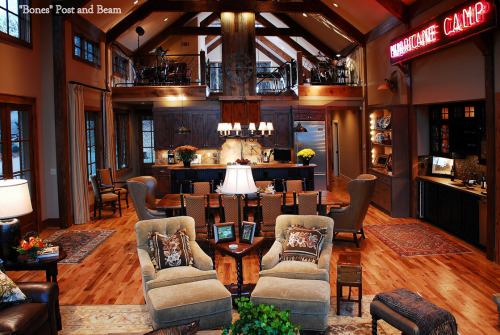It's Floor Plan Friday! We're keeping it rustic today with this fan-favorite Appalachian lodge.  To see more of this award-winning masterpiece, visit: http://www.nahb.org/generic.aspx?genericContentID=179159&utm_source=tumblr&utm_medium=social&utm_campaign=FPF