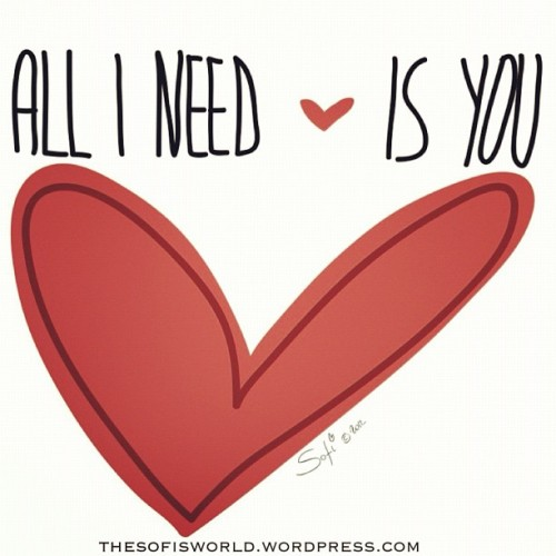 All I need is ❤you http://instagr.am/p/NTfexlJRva/
