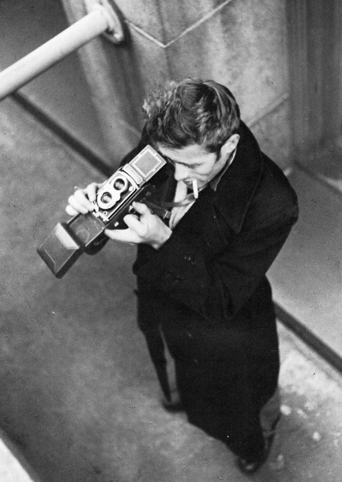 dystonias:  James Dean, 1953