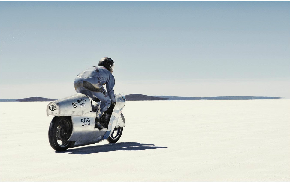 The Bonneville Salt Flats, by Simon Davidson, a full time photographer born in New Zealand. He grew up near the coast in Australia, constantly surfing and growing a passion for old cars from the 1950's and 1960's.