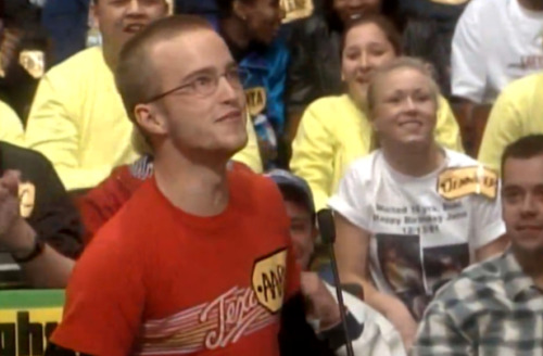 "Aaron Paul Was On 'The Price Is Right' In 1998  ""Yo, Bob Barker, let me spin the wheel, BITCH."" via cajunboy:uproxx"