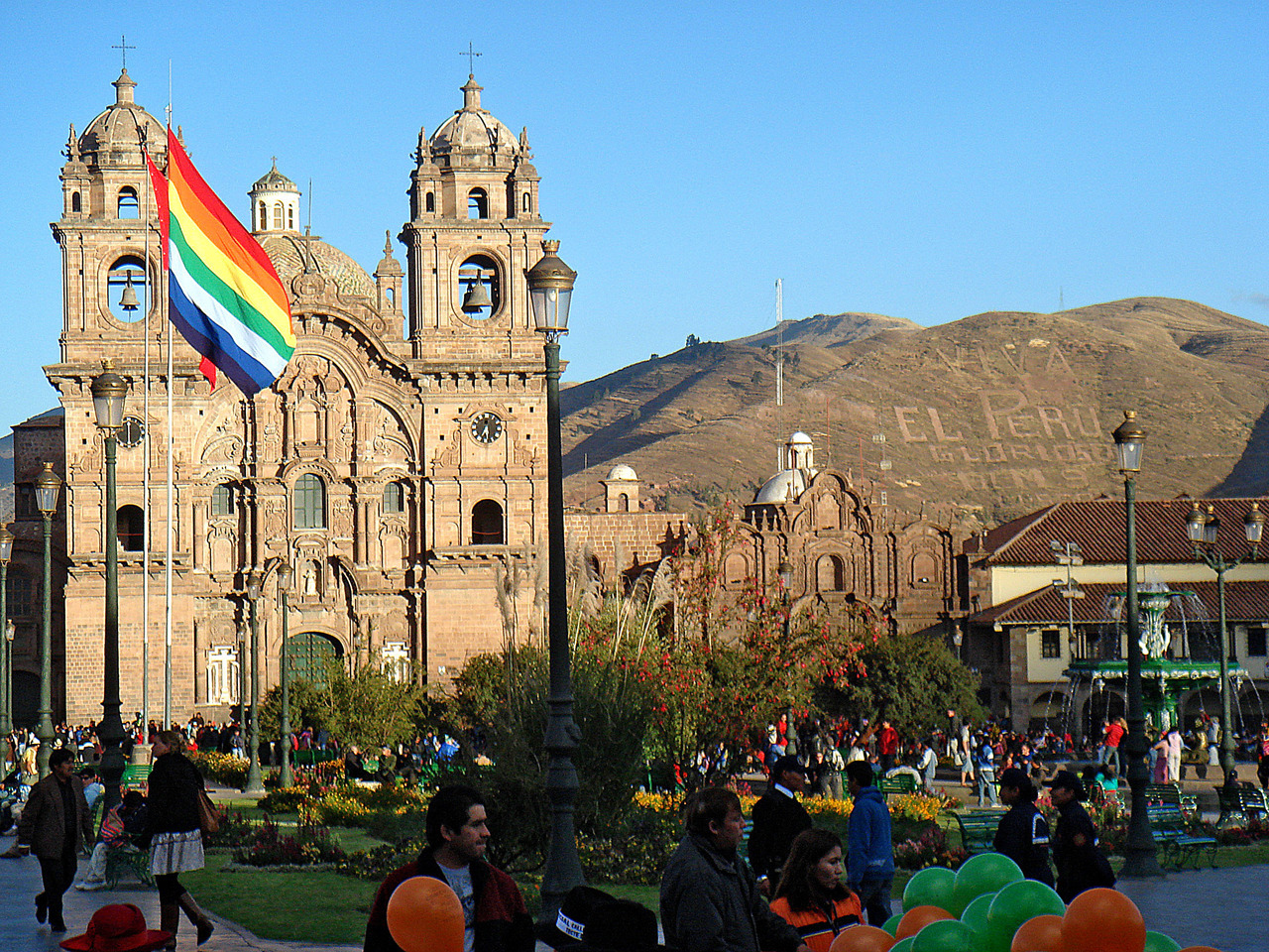 """The rainbow flag has been associated with the Tawantinsuyu and is displayed as a symbol of Inca heritage in Peru and Bolivia."" and tonight, a rainbow flag supported by the San Diego City Council will be raised permanently in the Hillcrest community to kick off Pride weekend!"