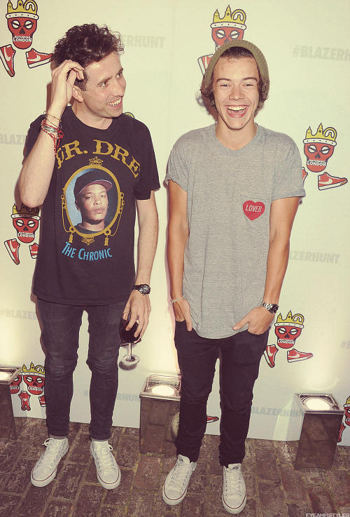 fyeahhstyles:  → appreciation of the harry styles + nick grimshaw bromance