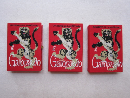 """Il Gattopardo"" book-clutches by Olympia Le-Tan."