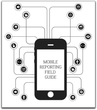 Mobile Reporting Field Guide Students at the UC Berkeley Graduate School of Journalism have put together a great field guide for mobile reporting. Available as a PDF or iBook, the guide walks through and evaluates a number of audio, video and photography apps. Via the Guide:  During the Spring semester of 2012 a small group of students at the UC Berkeley Graduate School of Journalism enrolled in an eight week mobile reporting course to experiment to see how far they can go only using their wits, drive and the smartphone in their pocket… …A lot of attention in the news industry has been given recently to the idea of using mobile devices for reporting. This class decided to serve as a case study on how well these devices, apps and third-party accessories work in the creation of multimedia. We attempted find all the accessories that had potential to aid a mobile journalist in the field, then we bought them all… …This field guide is the result of the hard work of students, Casey Capachi, Matt Sarnecki and Evan Wagstaff. Each item is presented with a brief review, followed by Pros, Cons and a final rating. Where appropriate we also included sample videos, images and audio so you could judge for yourself.  Multimedia Shooter, Mobile Reporting Field Guide.