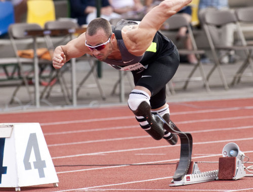 How Olympic 'Blade Runner' Sprints Without FeetSouth Africa's Oscar Pistorius will be the first amputee to compete in the Olympics. Here's a look at the mechanics of how he runs. keep reading