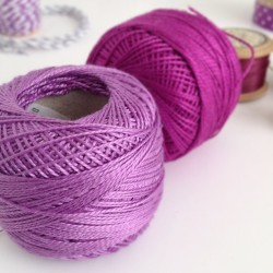 Pretty #yarn for a collaboration project ☺ #purple #craft  (Taken with Instagram)