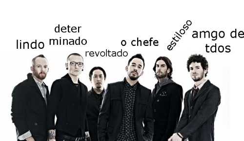 LINKIN PARK BANDA DE MTAS FACES
