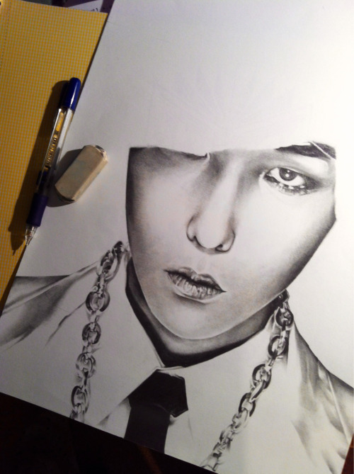 A work in progress of G-Dragon