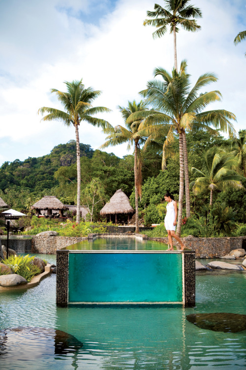 condenasttraveler:  Hot List: The World's Best New Hotels | Laucala Island, Fiji