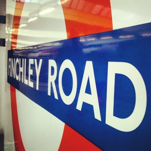 #london #finchleyroad #sign #tube #instalondon #instadaily #instaphoto  (Taken with Instagram)