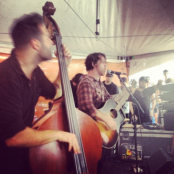 frubes:  @chuckragan @thejoeginsberg and Jon Gaunt making my day. (Taken with Instagram)