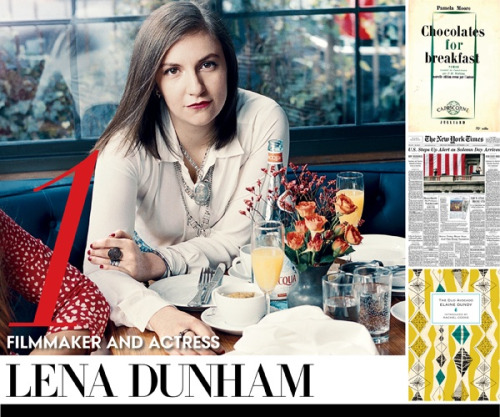 "Lena Dunham likes our books! (Or at least one of them). Vogue ran an article called ""Required Reading"" where they asked celebrities to pick three things to read this summer and Lena Dunham, creator of the HBO show Girls, chose Elaine Dundy's The Dud Avocado. They got the wrong the cover (or at least, that's not ours on the bottom left), but we'll forgive both Vogue and Dunham and bask in the glory of glamour and fame."