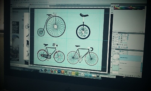 Working on some bikes