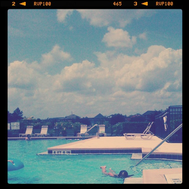 pool day (Taken with Instagram)