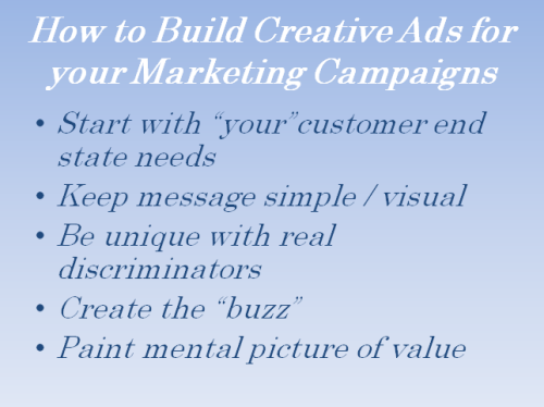 Creating effective advertising for your marketing campaign …
