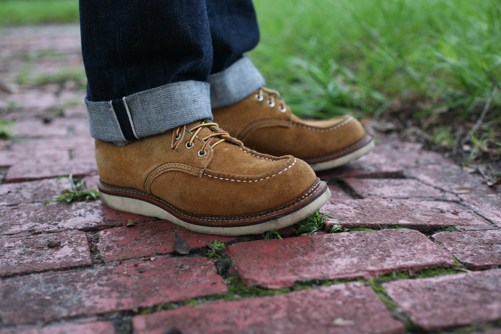 redwing 8105 maize abilene work oxfords.