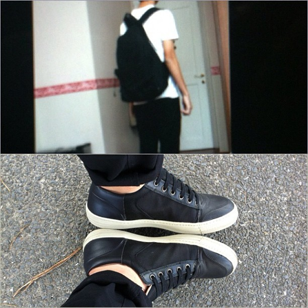 Silent Damir Doma, dries #ootd lol I need my laptop back  (Taken with Instagram)