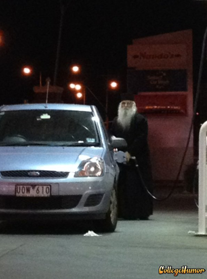 Dumbledore Getting Some Gas Accio gas!