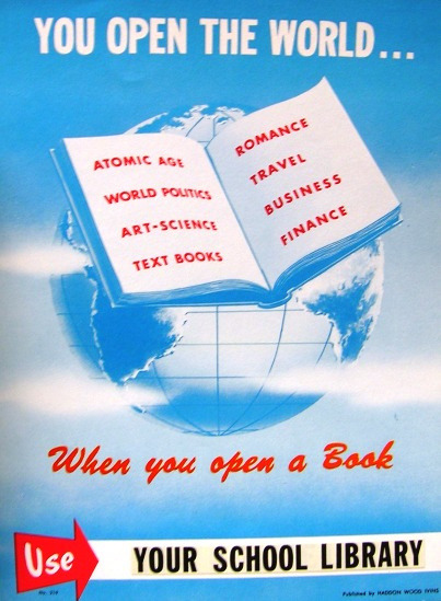 You Open the World … When You Open a Book by Enokson