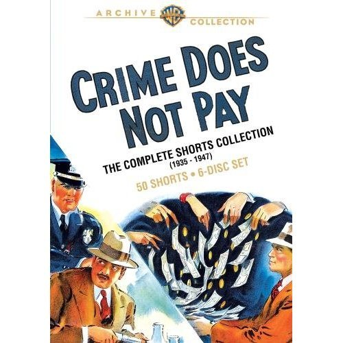 movie #393 - 397 Crime Does Not Pay: Phantoms, Inc. Crime Does Not Pay: A Gun In His Hand Crime Does Not Pay: Purity Squad Crime Does Not Pay: The Luckiest Guy In The World Eyes of the Navy