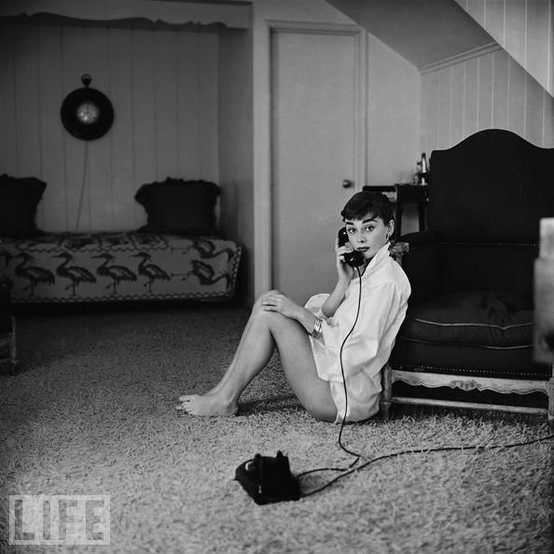 Audrey Hepburn, 1954 Photo by Mark Shaw