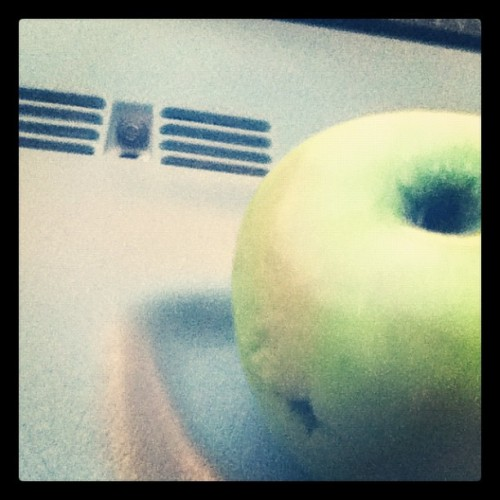 plan B. smoke out of an apple. (Taken with Instagram)