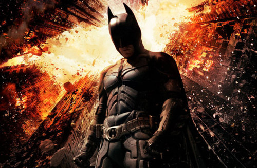 The Dark Knight Rises, directed by Christopher Nolan, is a movie of and about extremes. It is a movie that demonstrates what happens when men, cities, action and franchises are pushed toward the furthest edges of what was thought was possible and the inevitable tumble towards decimation that occurs when those edges are just underfoot. It is a movie of extreme length (165 minutes), extreme set pieces (featuring what must surely qualify as a cast of thousands), and extreme audience anticipation. The Dark Knight Rises attempts to meet the challenges of these wrenching expectations with pure popcorn bravado. Every moment in the movie is bigger, badder, bolder and more brazen than the last. From the hauntingly acrobatic opening action sequence all the way through its final bittersweet moments of closure and discovery, The Dark Knight Rises is an exciting, thoughtful and provocative action movie that wonderfully punctuates Nolan's vision of Batman, while also exaggerating some of the more problematic aspects of this now decade-long superhero renaissance taking place throughout our summer cinema.