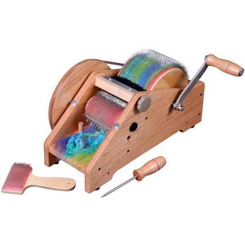 My spinning friends, do we have any opinions on the Ashford Wild Drum Carder?