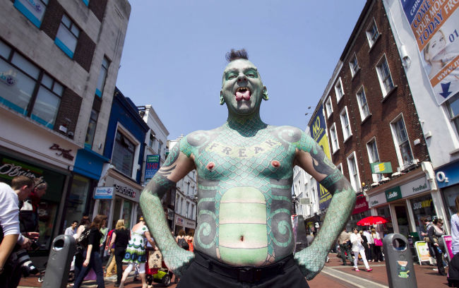 Merrion Square comes alive with the Street Performance World Championships! Running all this weekend, it's one of the year's biggest family festivals. Go go go!