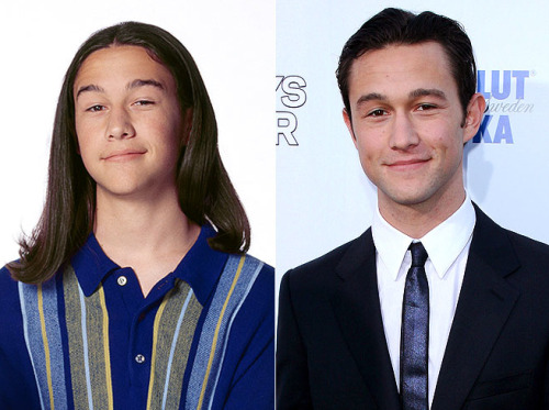 then-n-now:  Joseph Gordon-Levitt