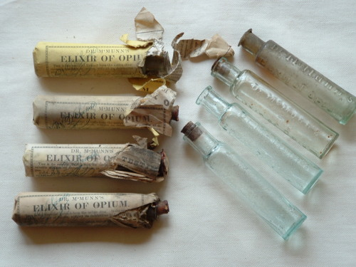 A collection of vials