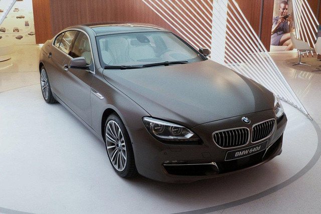 Paris BMW 640 D by descartes.marco on Flickr.