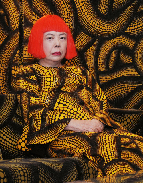 "nycartscene:  Recently Opened: Yayoi Kusama : RetrospectiveWhitney Museum, 945 Madison Ave., NYC (@ 75th St.)Well known for her use of dense patterns of polka dots and nets, as well as her intense, large-scale environments, Yayoi Kusama works in a variety of media, including painting, drawing, sculpture, film, performance, and immersive installation. Born in Japan in 1929, Kusama came to the United States in 1957 and quickly found herself at the epicenter of the New York avant-garde. After achieving fame through groundbreaking exhibitions and art ""happenings,"" she returned to her native country in 1973 and is now one of Japan's most prominent contemporary artists. This retrospective features works spanning Kusama's career.Kusama's Fireflies on the Water is being shown in the Museum's Lobby Gallery in conjunction with the Yayoi Kusama retrospective. Timed tickets are required to view Fireflies on the Water and can only be reserved on the day of your visit at the admission desk."