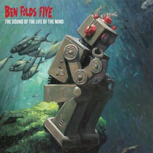 thedailywhat:  Ben Folds Five Album Art of the Day: Ben Folds Five has released the album art for the upcoming The Sound of the Life of the Mind, the trio's first album since 1999′s The Unauthorized Biography of Reinhold Messner. The trio will tour the U.S., Europe, and Australia through the end of the year to support their reunion. The new LP is out September 18. [slyoyster]