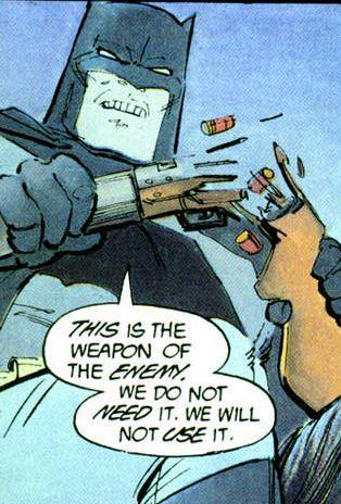 Right on, Batman. Right on. Thoughts and prayers are with the victims, survivors, and their families in Aurora, Colorado. Stay Strong and Compassionate.
