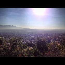 Morning hike. #hike #trail (Taken with Instagram at Hacienda Hills Trailhead)