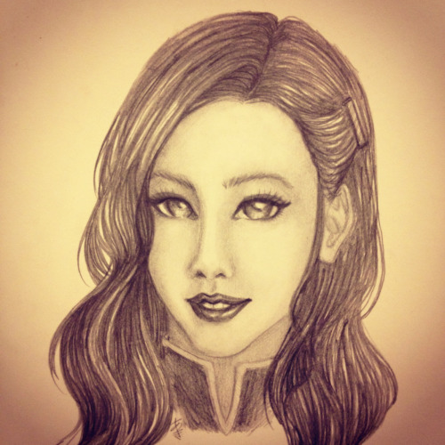 Tried my hand at realistic Asami…