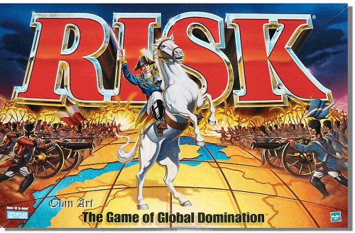 """EMom, is it possible to play Risk with only two people?"" Yes. According to the game's manufacturer, a 2-player Risk game requires a ""neutral"" army placed on the board, to serve as a buffer between the two players. See the game's instructions for details.http://www.myemom.com/Is-it-possible-to-play-Risk-with-only-two-people/"