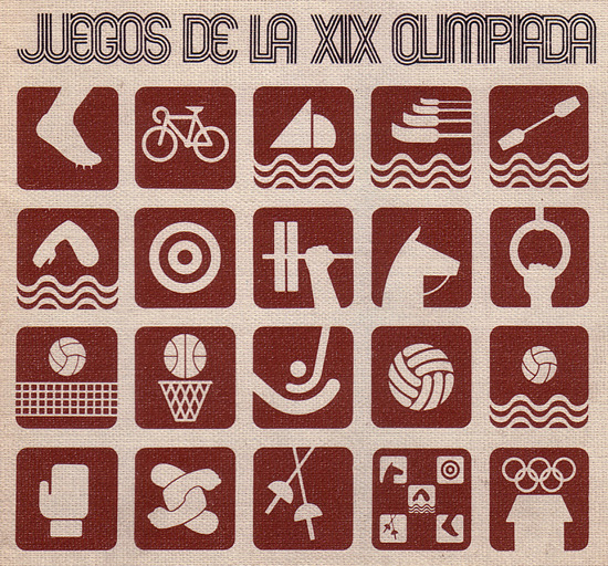 The History of the Olympic Pictograms: How Designers Hurdled the Language Barrier  Of all the instances in which graphic communication is necessary to transcend language barriers, the Olympic Games are, if not the most important, probably the most visible. We take the little icons of swimmers and sprinters as a given aspect of Olympic design, but the pictograms were a mid-20th Century invention—first employed, in fact, the last time London hosted the games, in 1948 (some pictographic gestures were made at the 1936 Berlin games, though their mark on international memory has been permitted to fade because of their association with Third Reich ideology). - Continue reading at Smithsonian.com.  Image: Virtual Olympic Games Museum Ed note: The little-known history of how the modern Olympics got their start.
