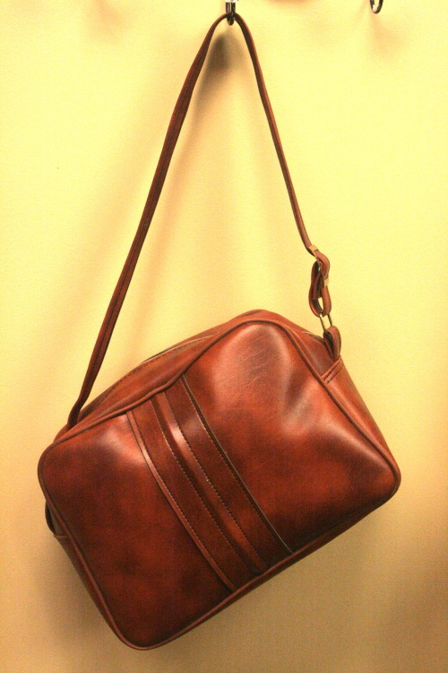 New in the Shop: Vintage (P)leather Carry On Bag. SOLD.