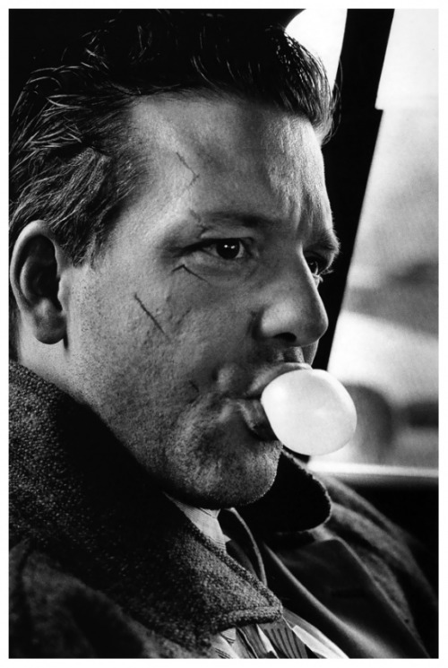 Mickey Rourke by Helmut Newton, 1986
