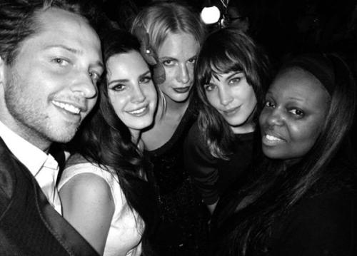 batteredandbruised:  Derek Blasberg and some very fashionable girls headed east this week for Louis Vuitton's Shanghai show and store opening.