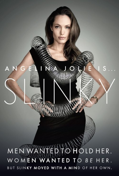 vanityfair | Angelina Jolie is…SLINKY