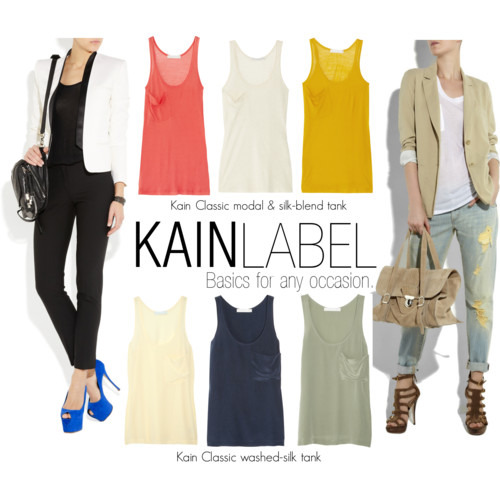 We are obsessed with KAIN LABEL's basics that every girl must have in her wardrobe!